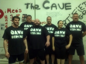 Cave Strong Powerlifting Team
